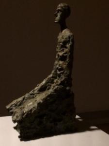 Alberto Giacometti, Homme à mi-corps, 1965, bronze, Fondatio Giacometti, Paris.