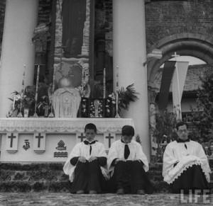 Nagasaki-juin-1949-messe-pontificale-pelerinage-02