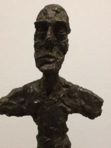 Alberto Giacometti, buste d'homme (dit New York I), 1965, bronze, Fondation Giacometti, Paris.